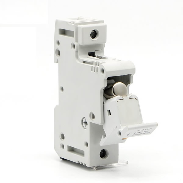 22x58mm DIN Rail Mounted Fuse Holder